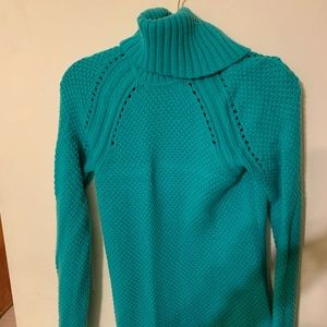 Talbots Size Small Knit Turtle Neck Sweater